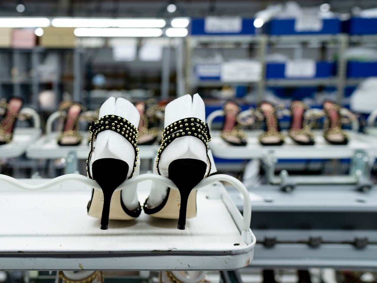 Susy Shoes fabrication stilettos