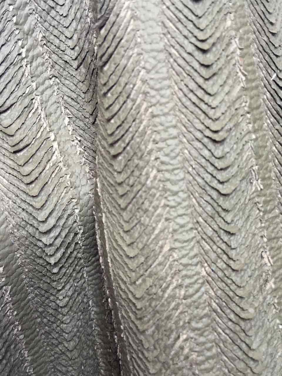 AGARTIOGLU DERI cuir lacéré