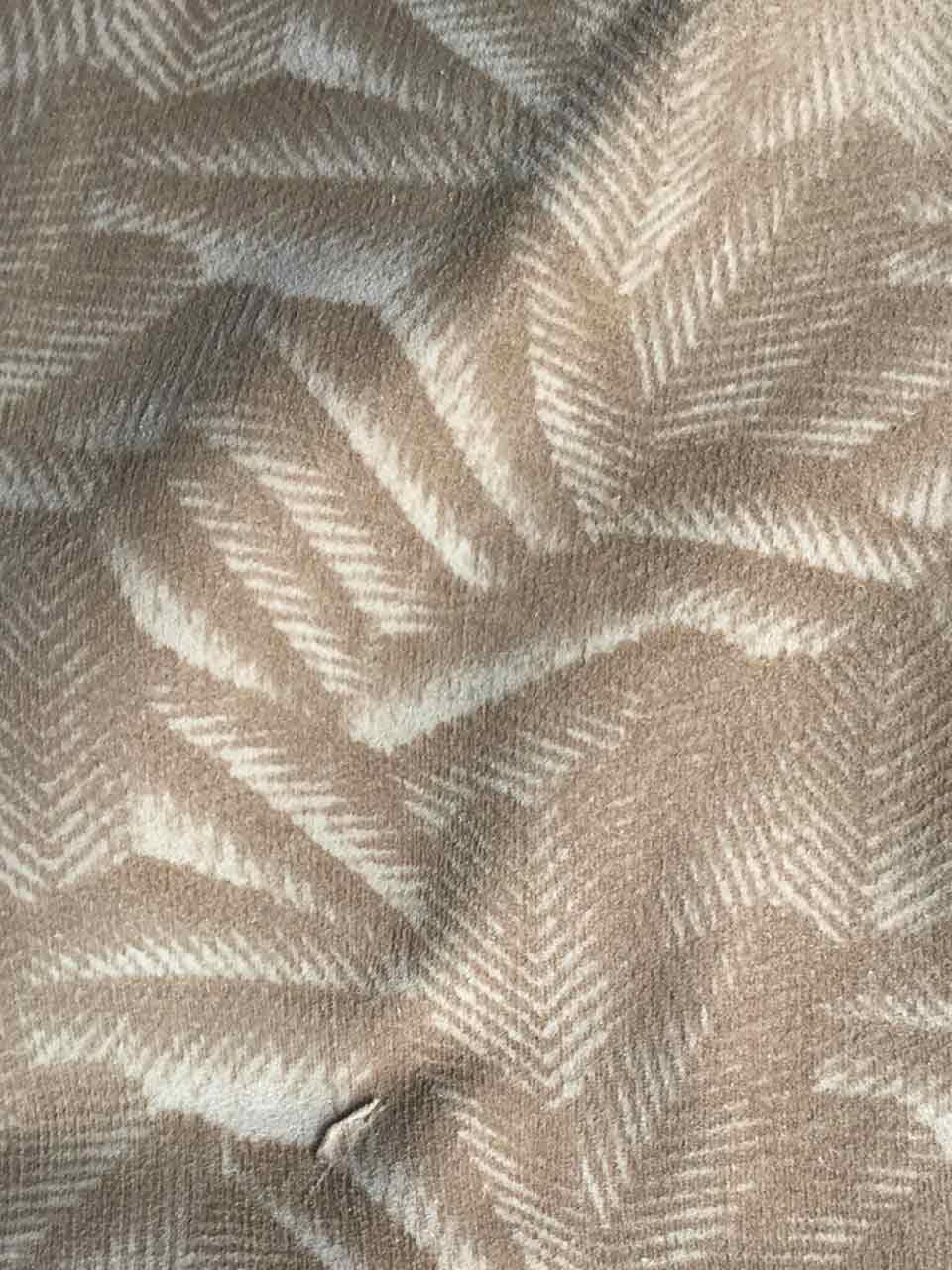 RG DERI cuir motif feuillage