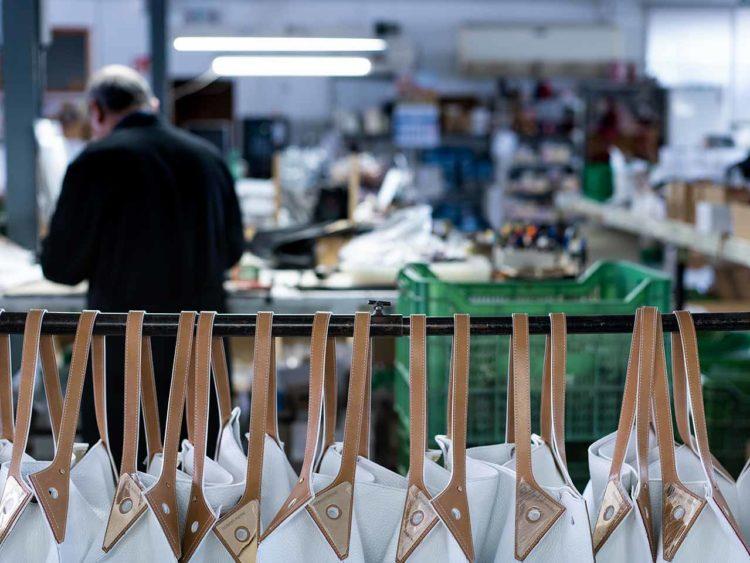 Robert Pietri fabricant maroquinerie atelier