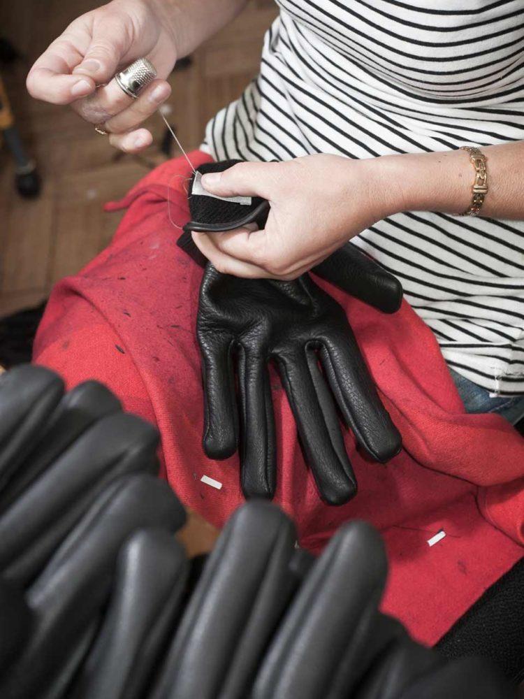 7 agnelle gant couture