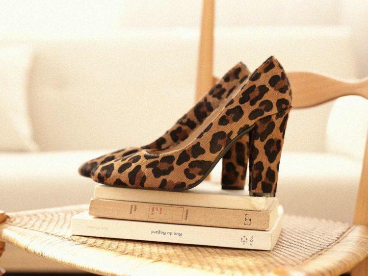 Emzi ruby leopard escarpin