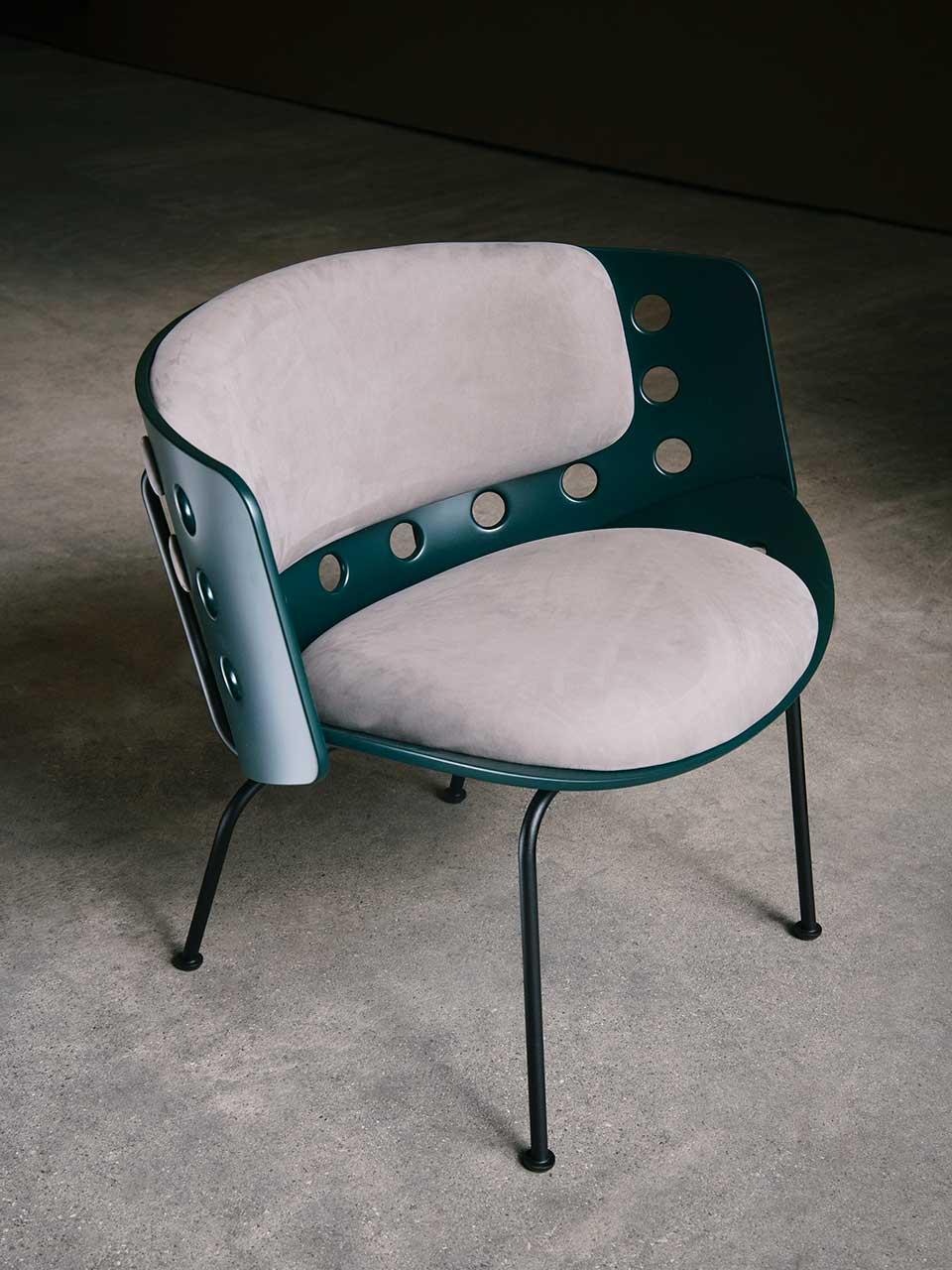 La Manufacture fauteuil Melitea Luca Nichetto