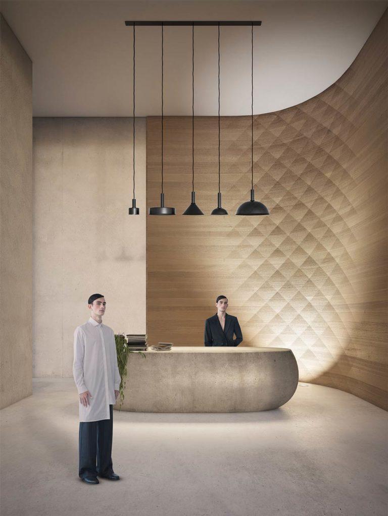 Tesler Mendelovitch corner panel