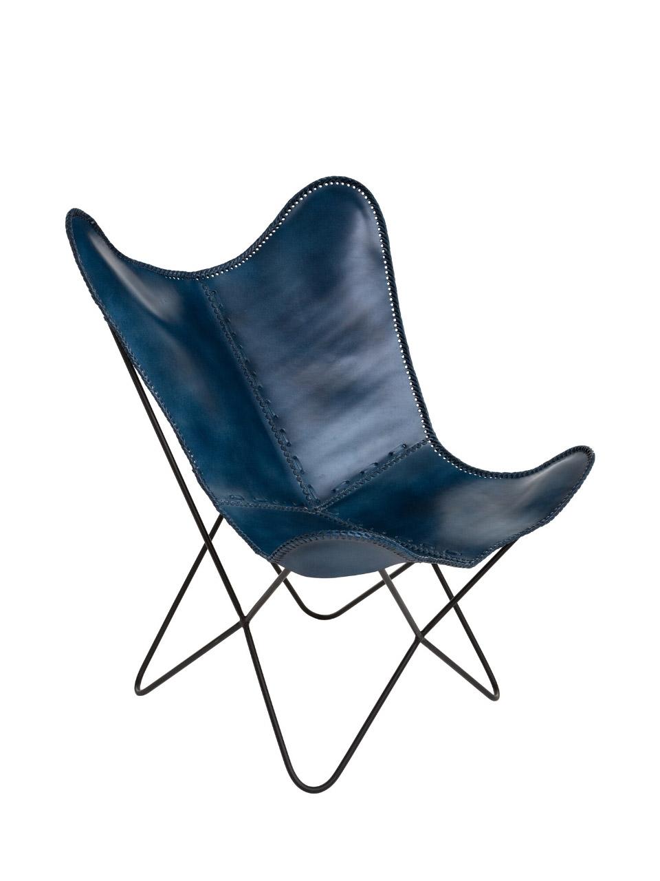 Atmosphera fauteuil bleu