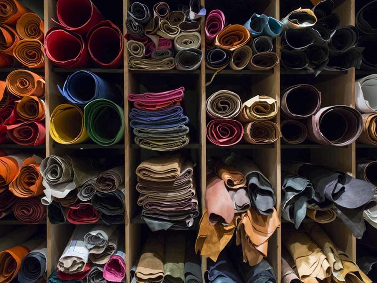 Maison Fichet concept store cuir