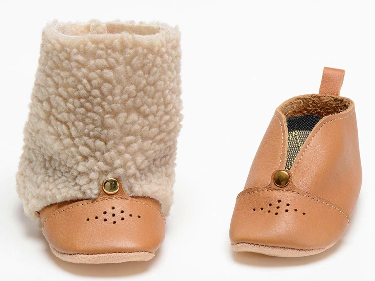 chaussons laurel camel