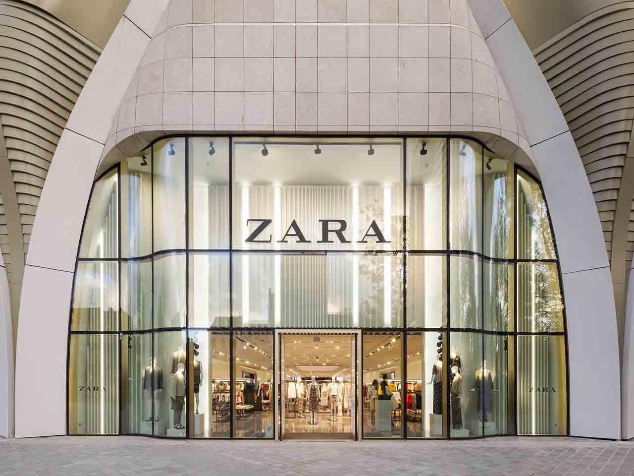 post covid Zara Bruxelles magasin