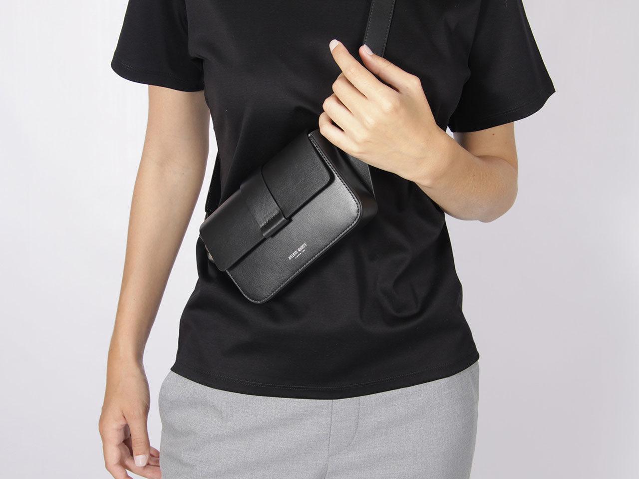 sac ceinture roquette noir