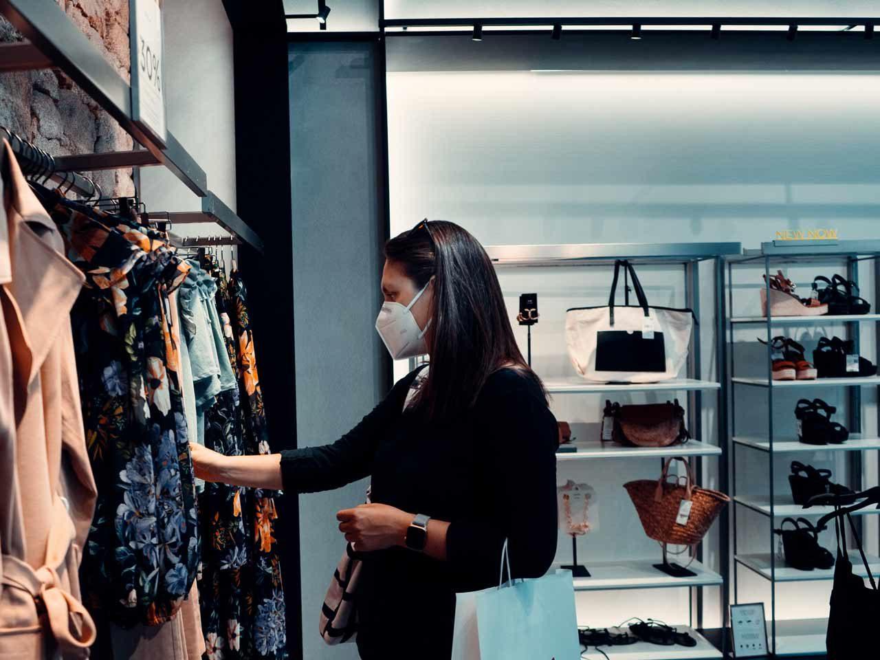 shopping Covid
