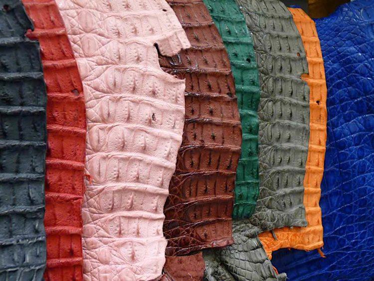 cuir de paname crocodile