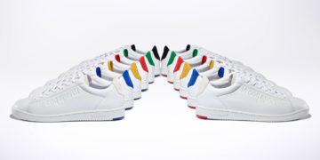 Le coq sportif sneaker blazon compagnie francaise