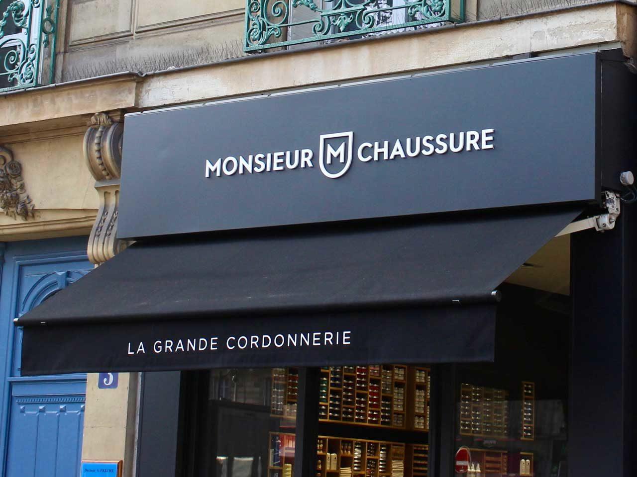 Boutique Monsieur Chaussure Paris