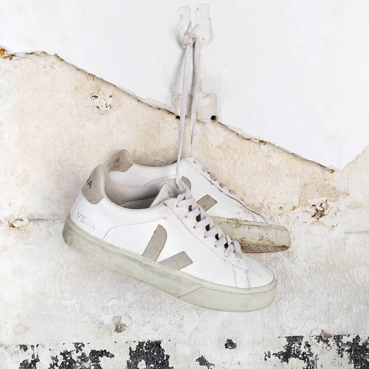 VEJA x DARWIN réparation recyclage sneaker