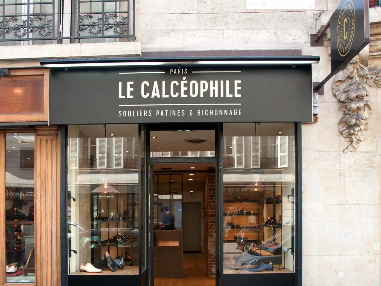 Le Calceophile boutique à Paris