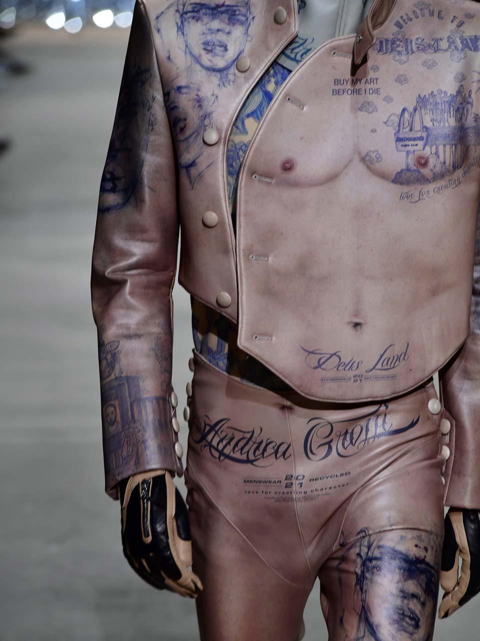 andrea grossi hyères cuir tatouages