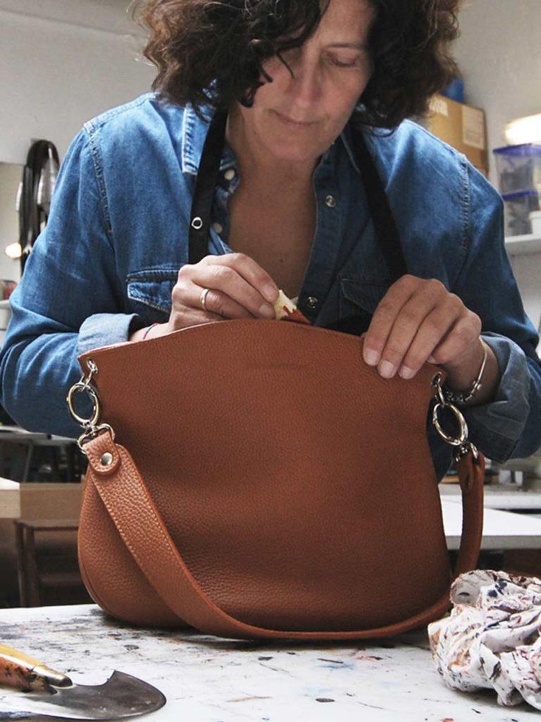 pays basque manufactoum sandrine bordenave cuir maroquinerie