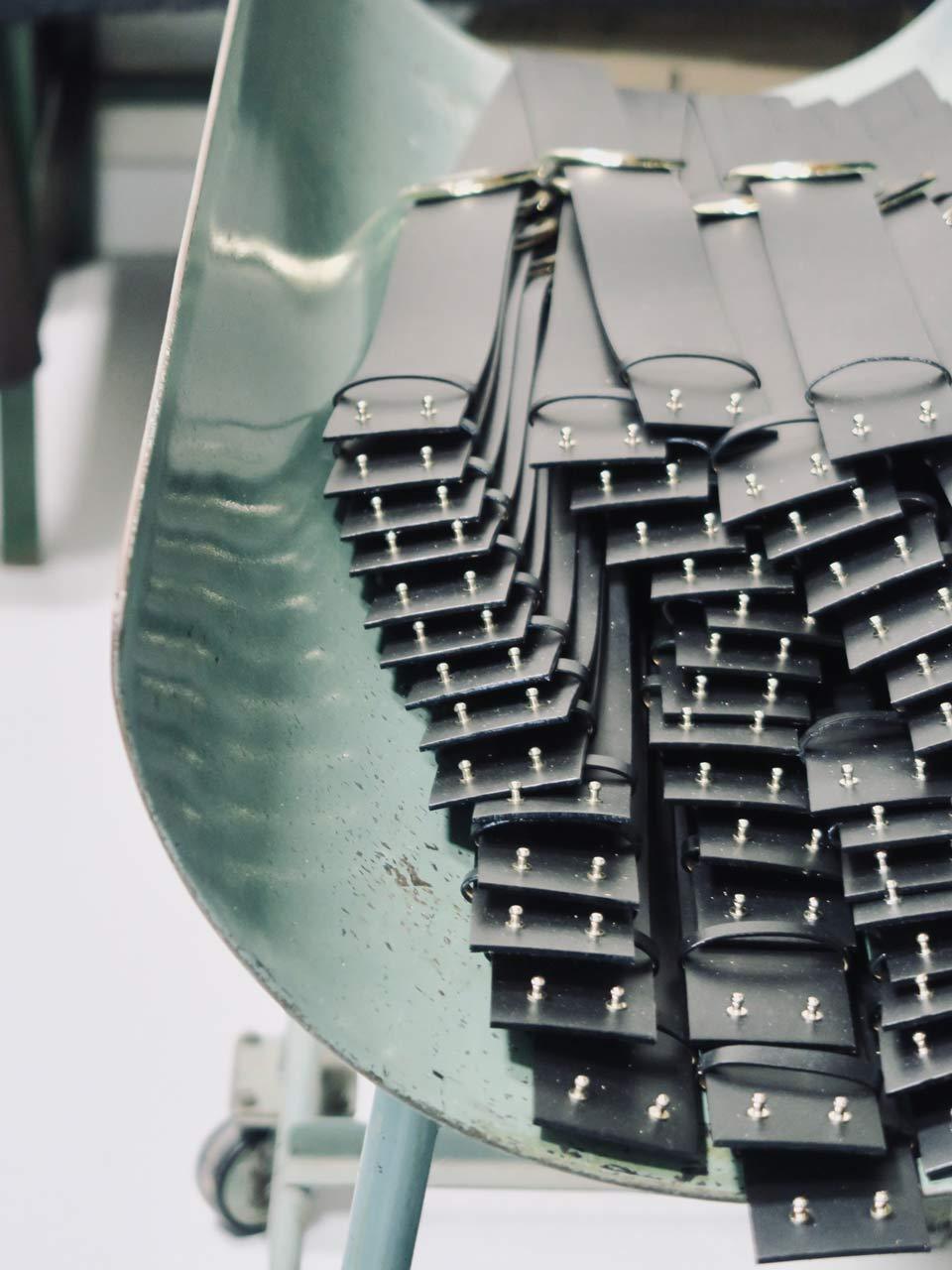Cuir du Vaudreuil atelier ceintures