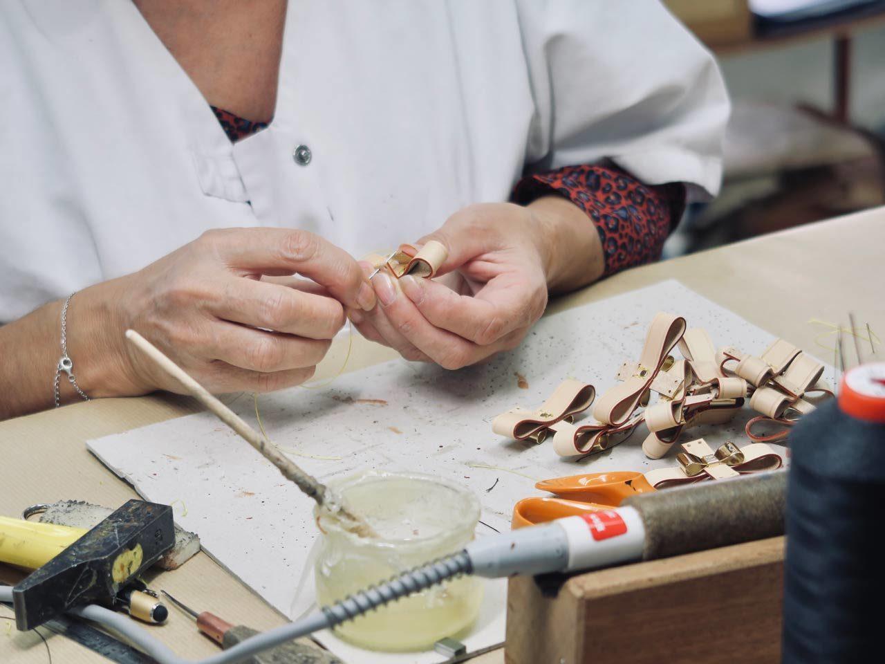 Piqûre accessoires Cuir du Vaudreuil
