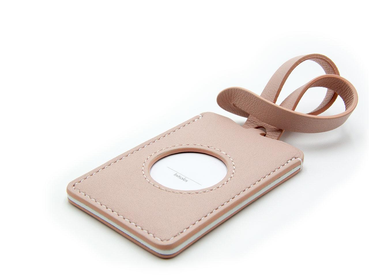 Chardon Paris étiquette bagage cuir