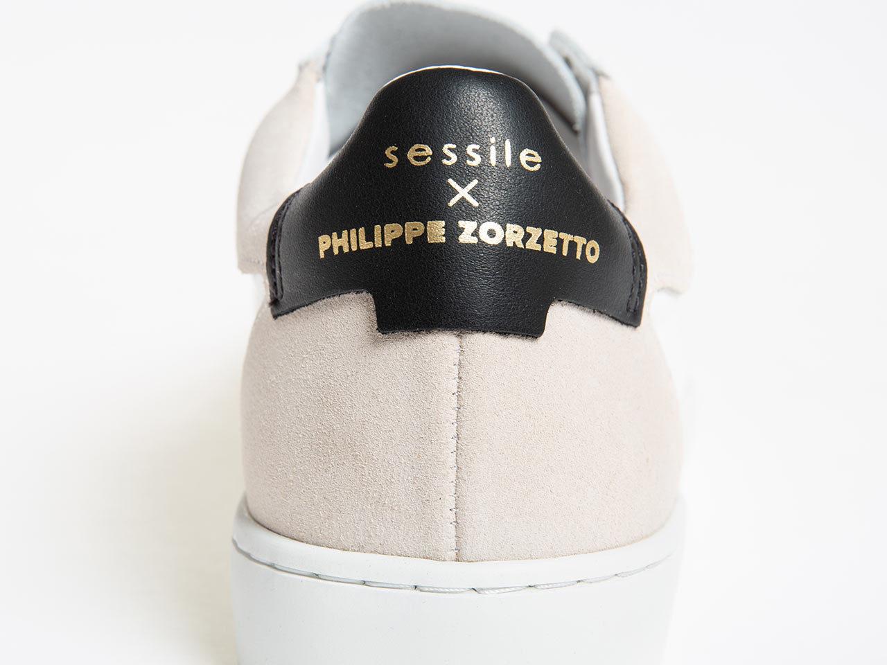 Philippe Zorzetto Collaboration sessile sneaker
