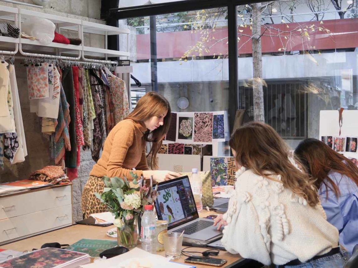 coworking Hall Couture Paris