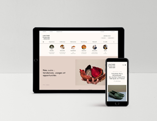 site web leather fashion design