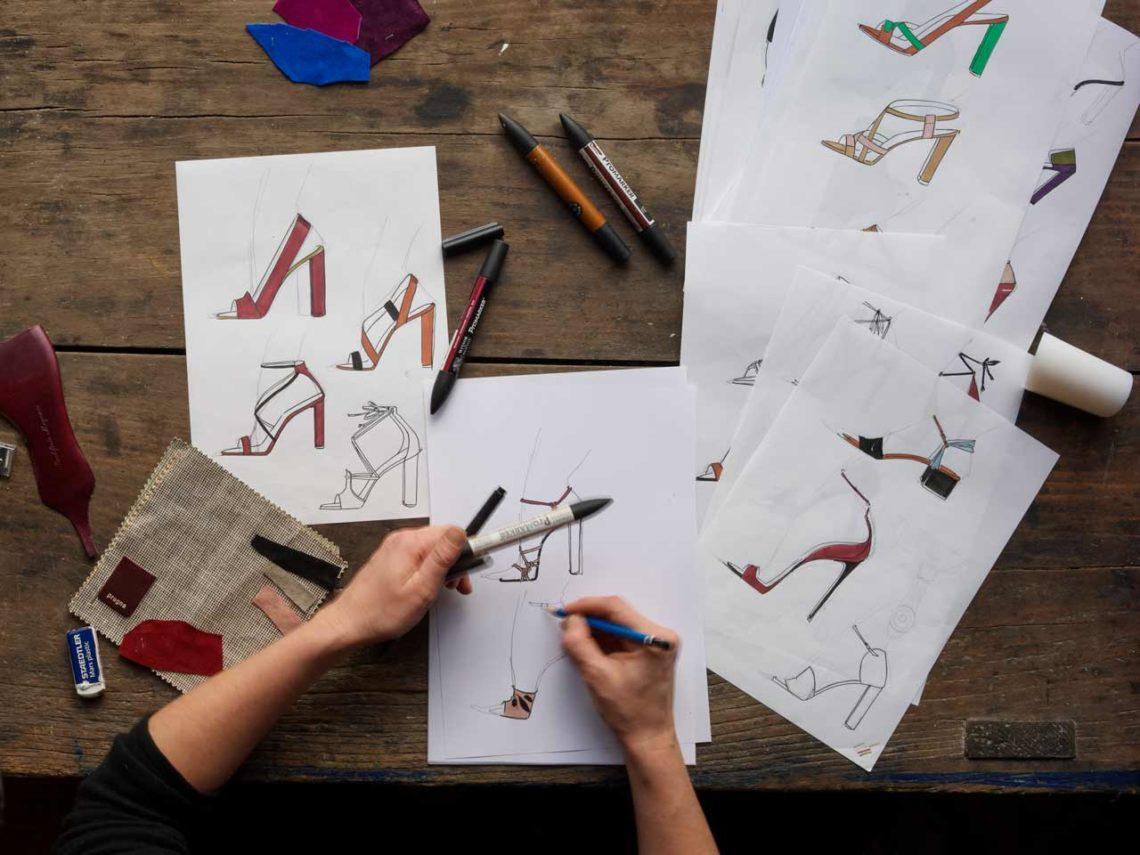 Charlotte Sauvat designer chaussure