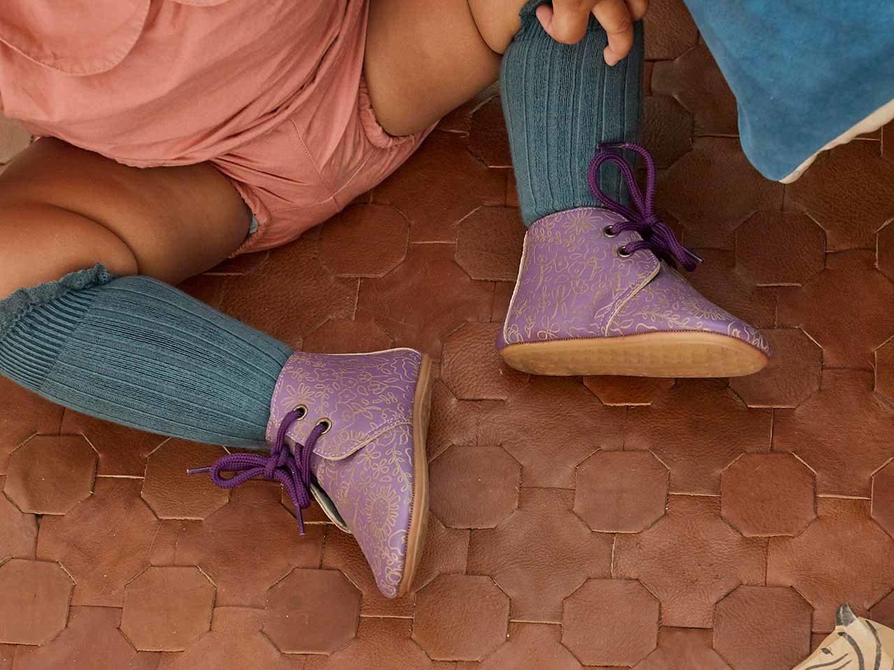 Poconido chaussures enfants cuir