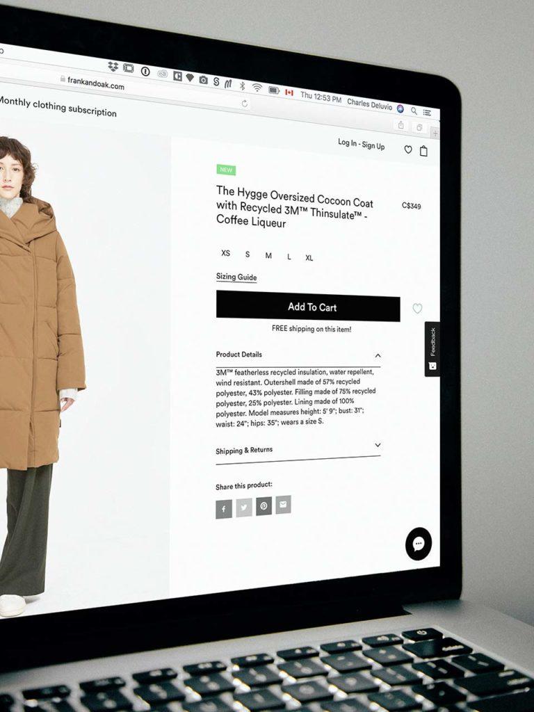 Commerce ventes web