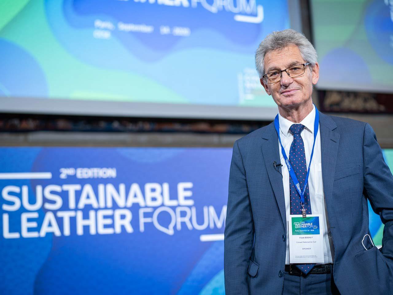 Frank Boehly Président Conseil National du Cuir