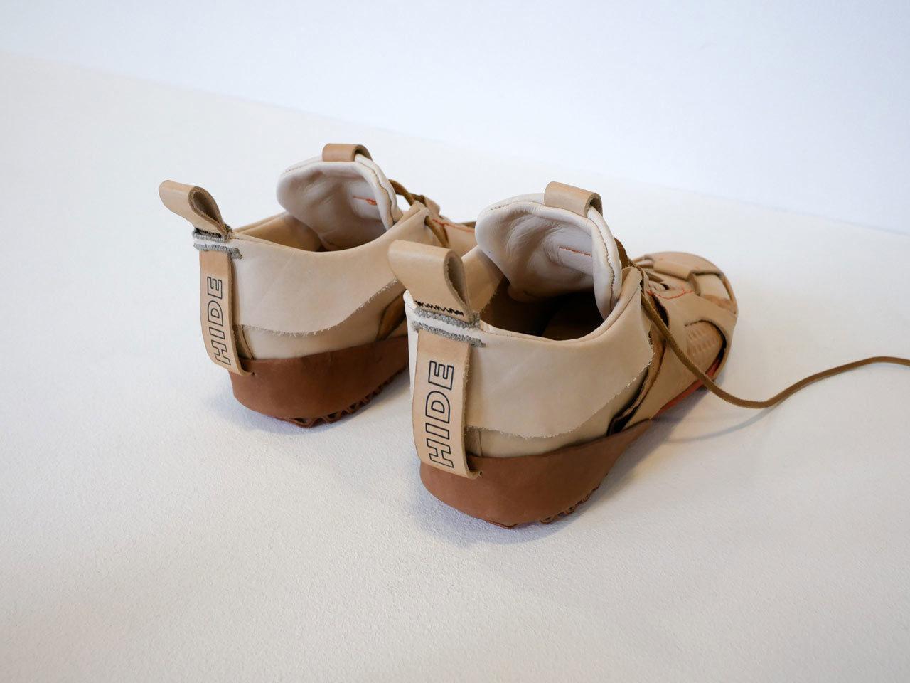 Michel Gallus footwear hide project