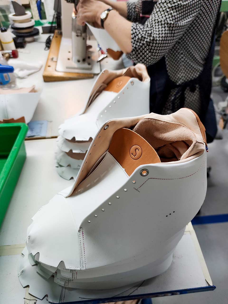 Sneakers Sessile fabrication France