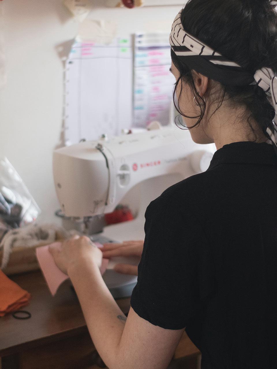 Upcycling valorisation matières couturière