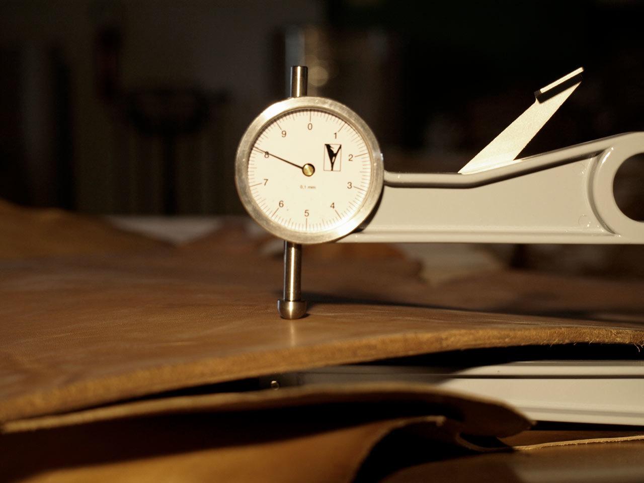 tannerie Garat calibrage cuir