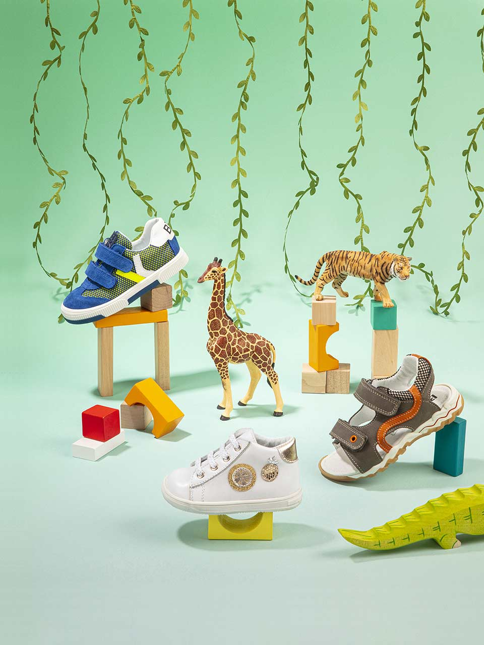 Bopy chaussures cuir enfants