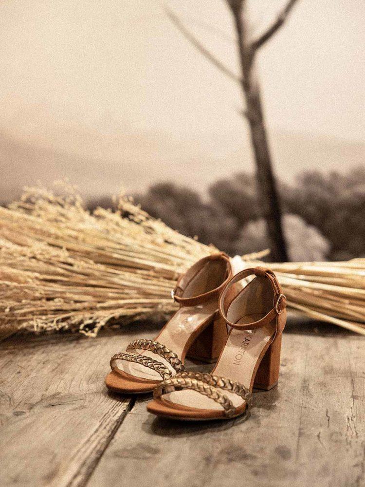 Emilie Karston sandale talon