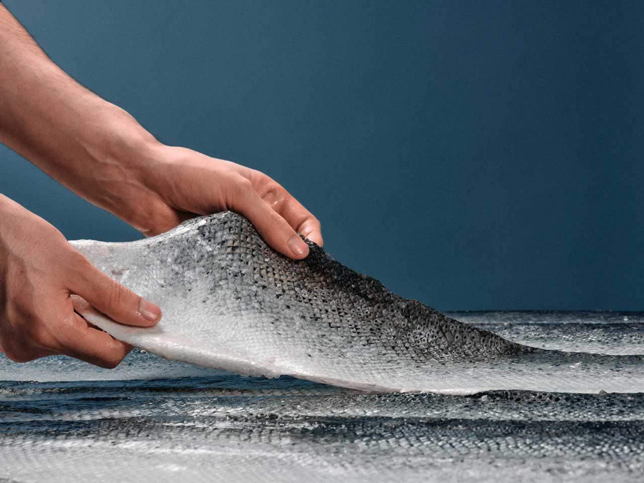 ICTYOS cuir marin France-zero-dechet-recyclage peau poisson