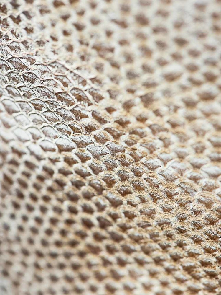Megisserie Moliere cuir poisson durable