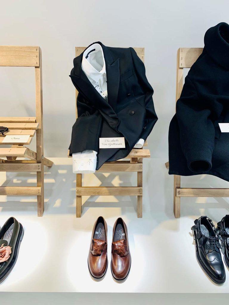 exposition souvenir defile haute couture Weston Galerie Boutique