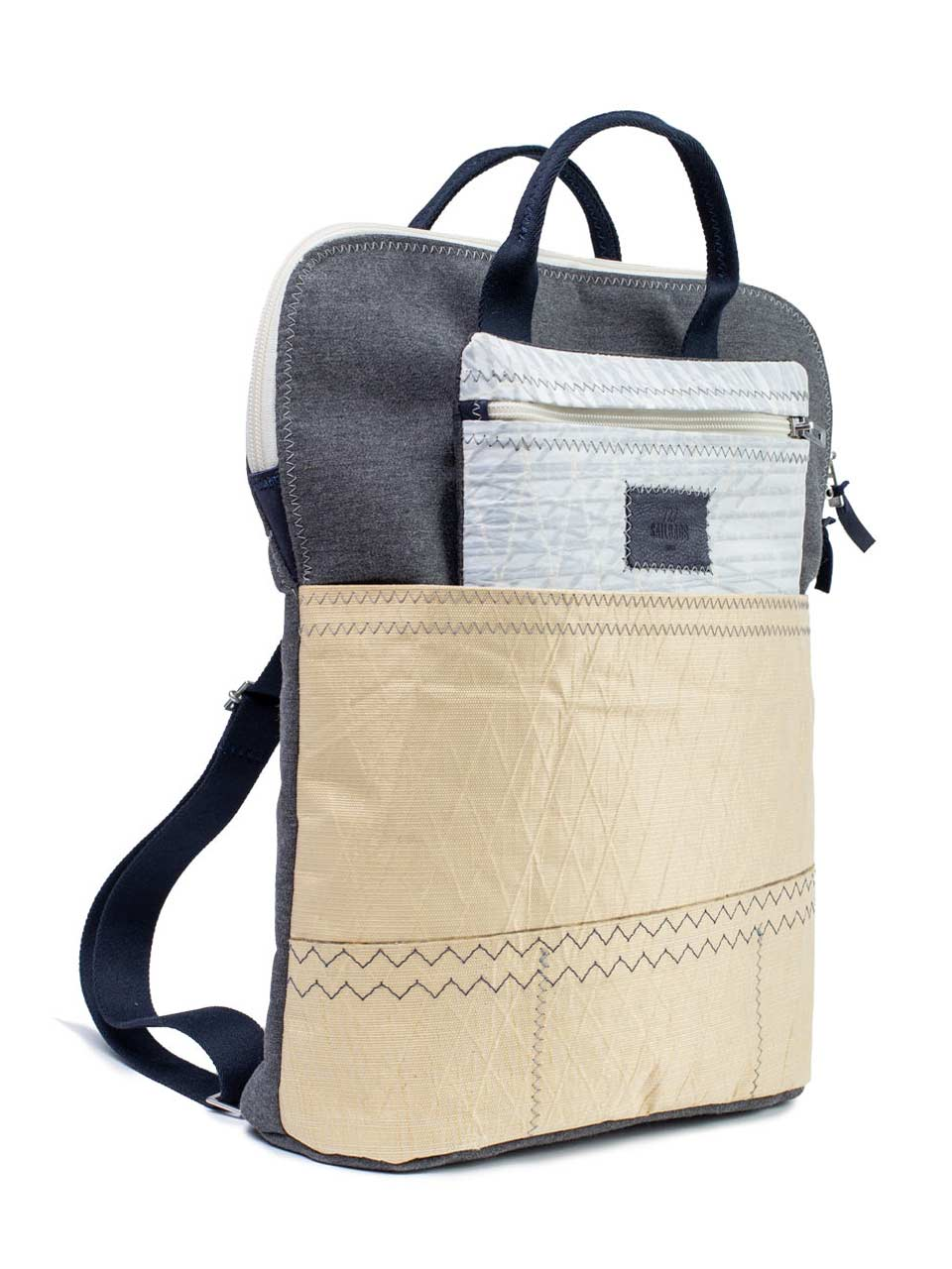 sac Gabrielle 727Sailbags upcycling voile