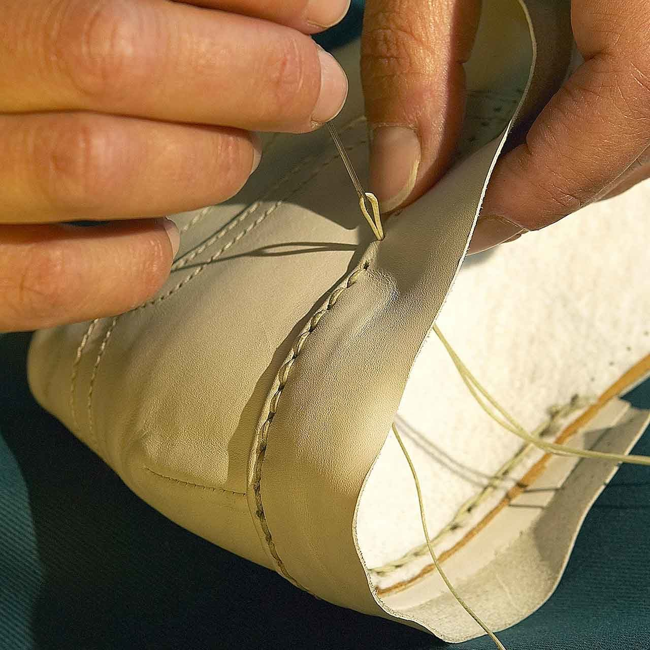 Chaussure couture fabrication Italie
